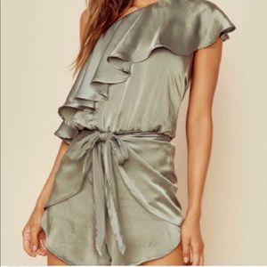 Planet Blue satin romper - NWOT never worn